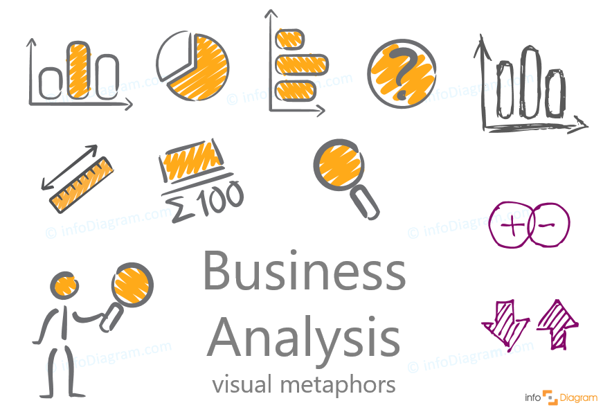 analysis icons creative handmade