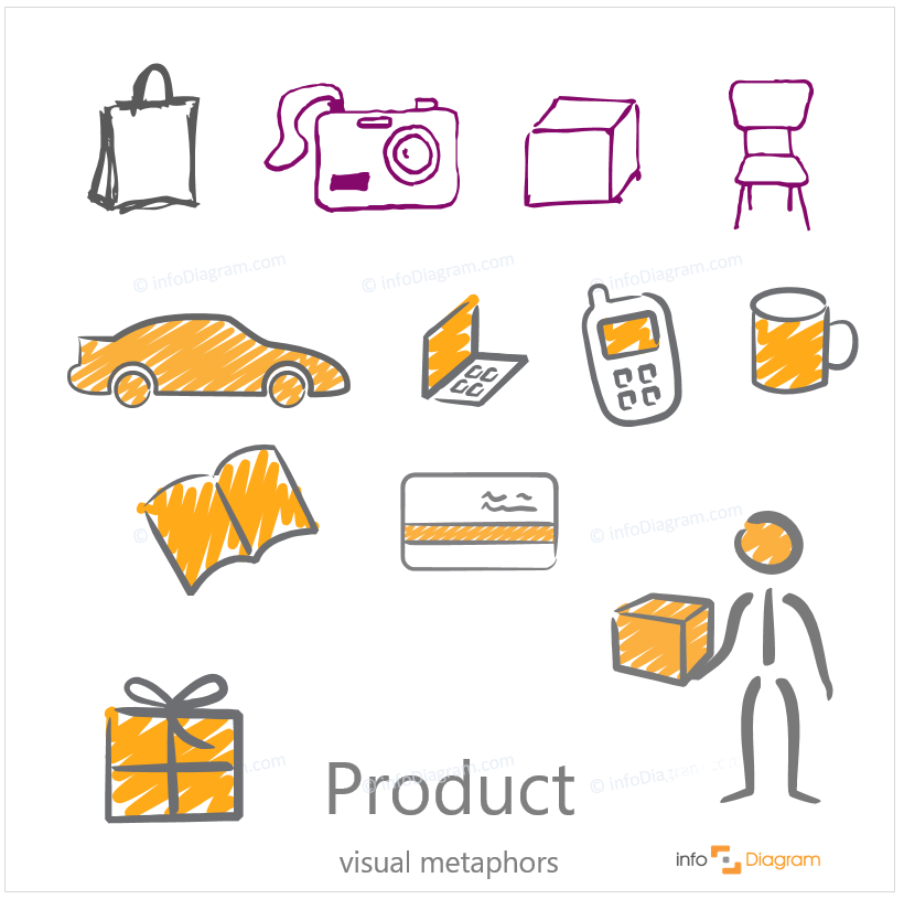 product icon hand drawn scribble