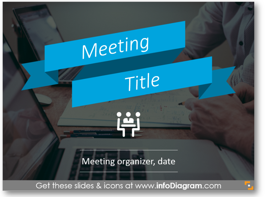 business meeting ppt title slide