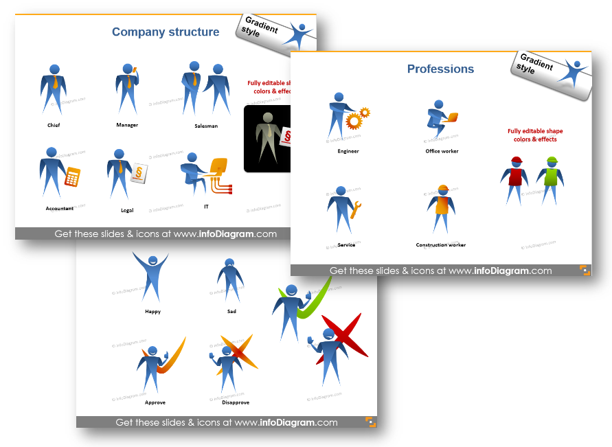 profession emotion attitude face person company powerpoint