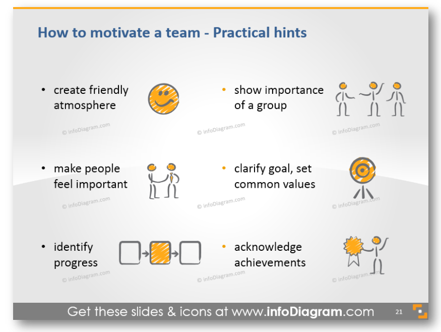 practical hints motivation advice