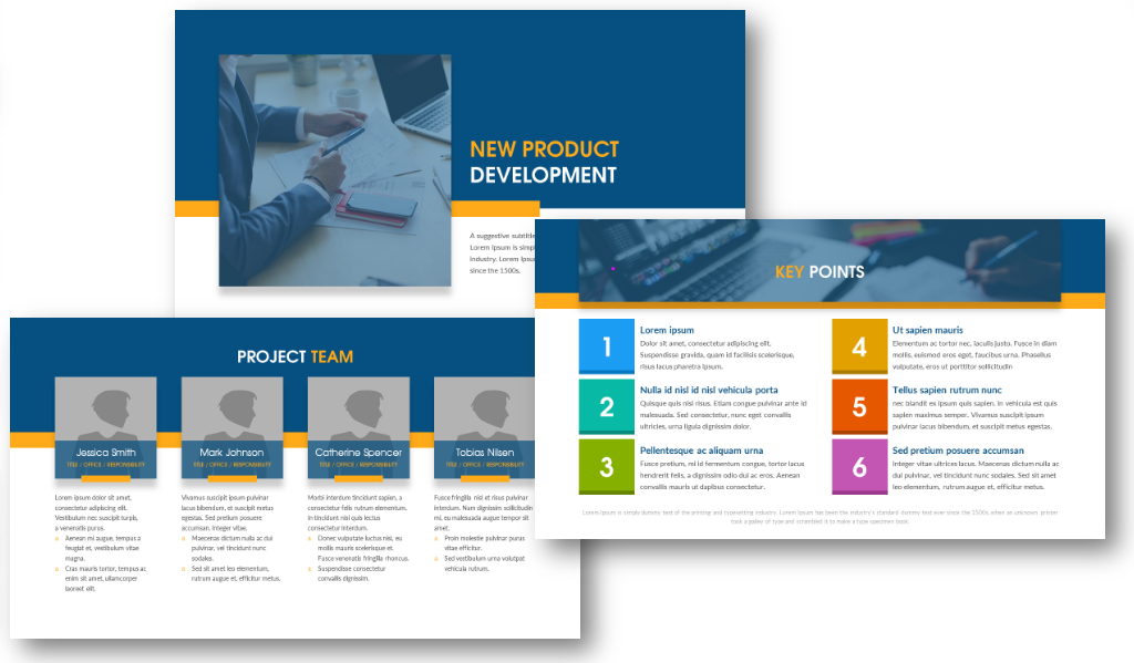 new product development team key points