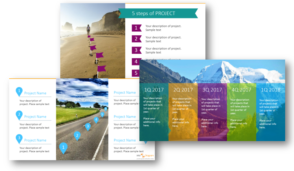 roadmap strategy milestones steps ppt effective plan