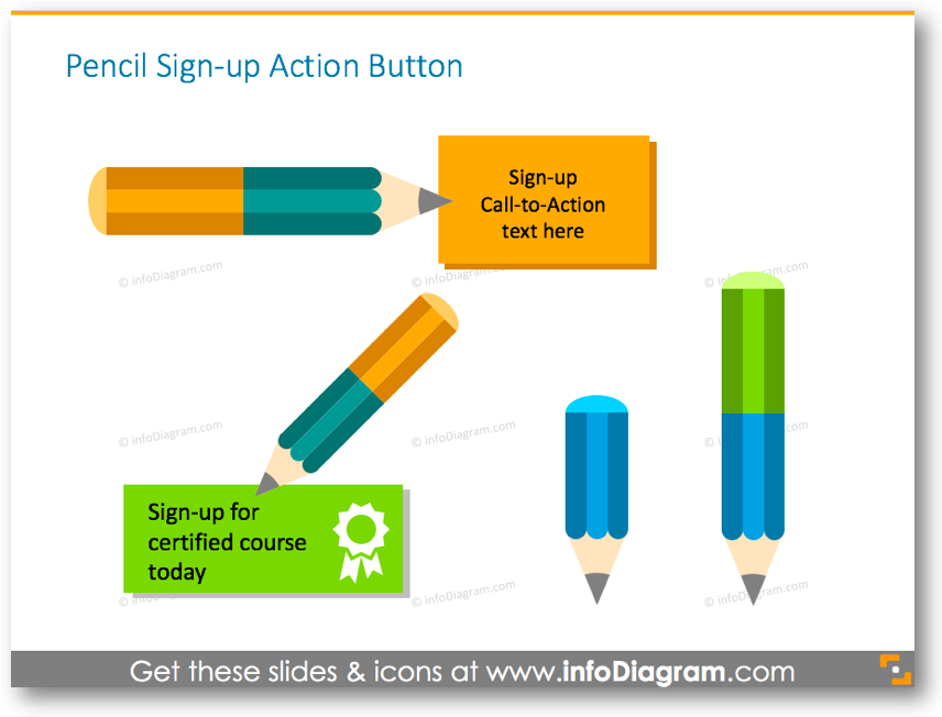 sign-up buttons