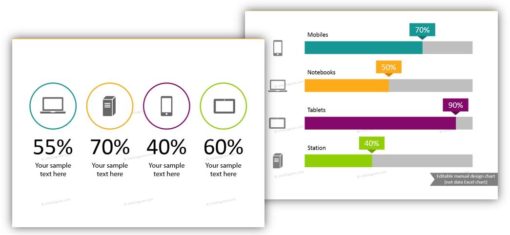 data visualization slide infographics ppt KPI presentation