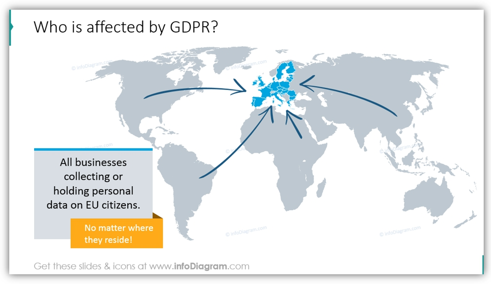 gdpr map EU europe countries
