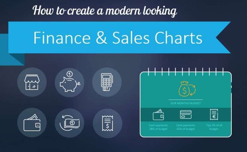How to Create a Modern Looking Sales Chart in PowerPoint [slide makeover]