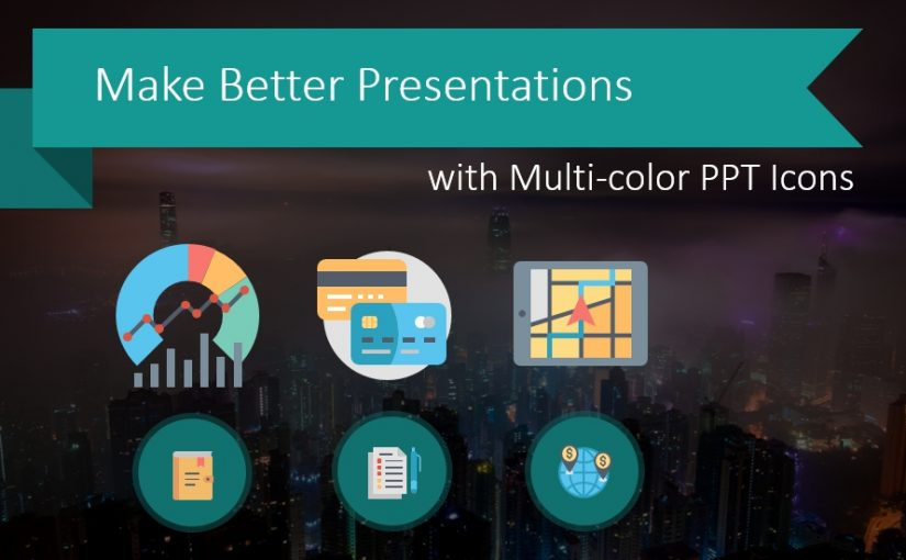Make Better Presentations with Multi-color PPT Icons