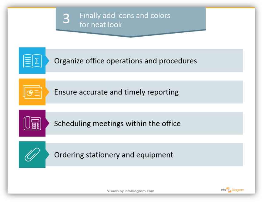 office visuals diagram example powerpoint
