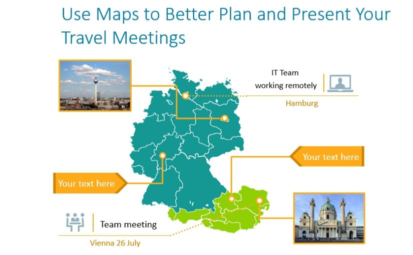 Use Maps to Better Plan and Present Your Travel Meetings