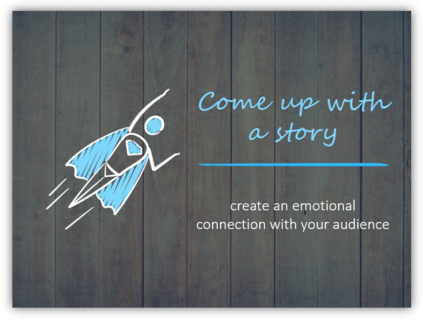 eye-catching title personal story ppt