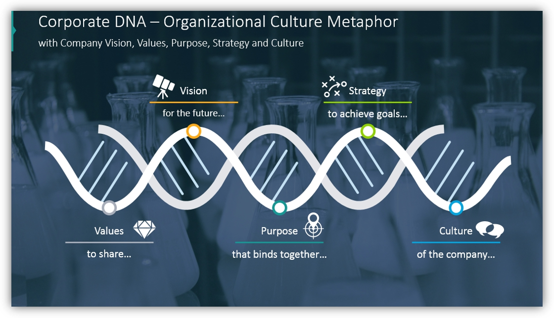 DNA diagram Organizational Culture