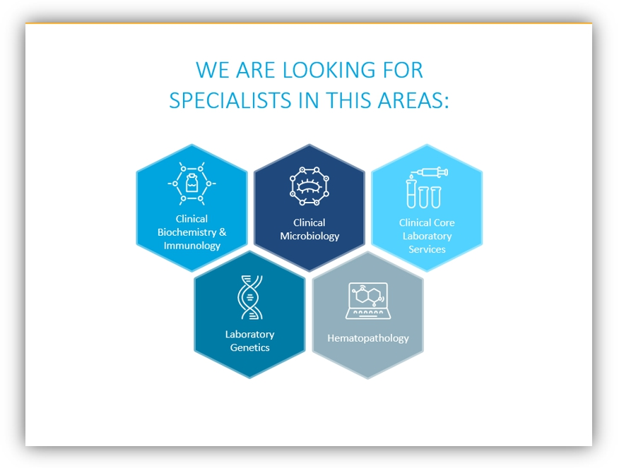 outline healthcare graphics specialists infographics ppt