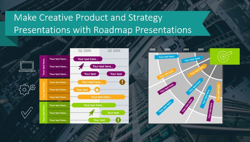 Make Creative Product and Strategy Presentations with Roadmap Presentations