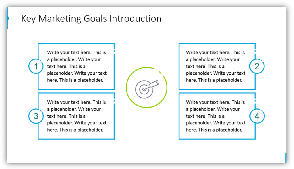 marketing strategy Key Marketing Goals Introduction