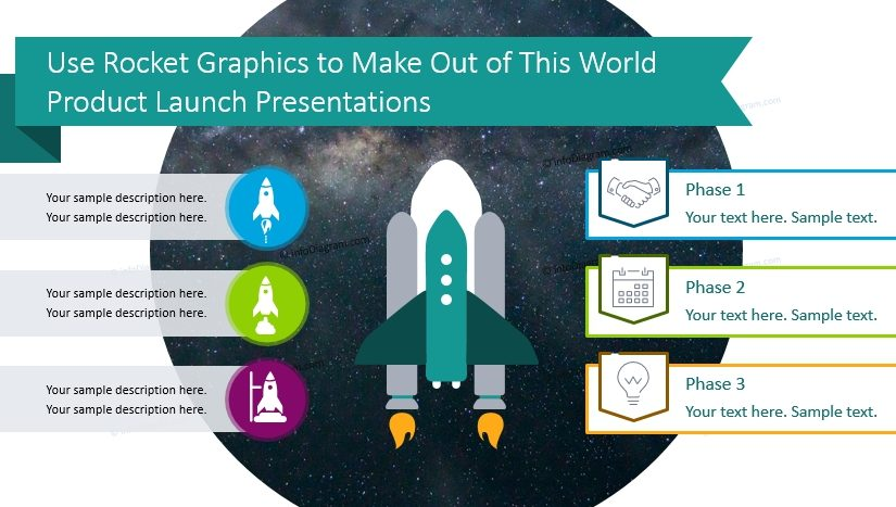Use Rocket Graphics to Make Out of This World Product Launch Presentations