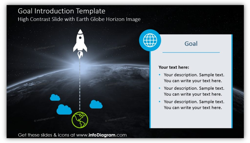 product launch goal introduction template ppt
