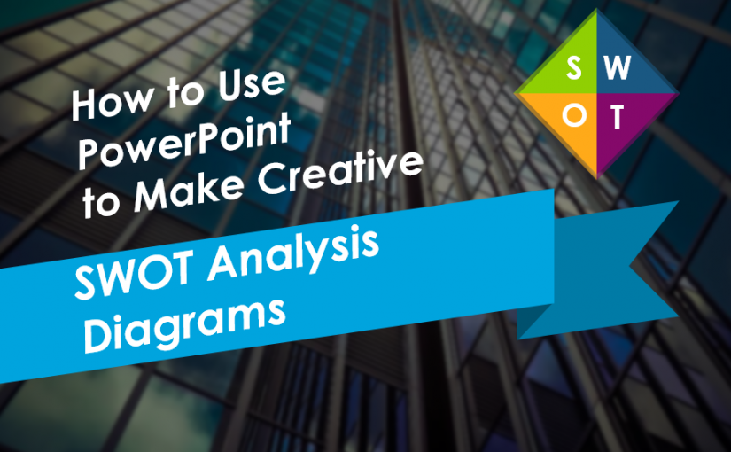 How to Use PowerPoint to Make Creative SWOT Analysis Diagrams