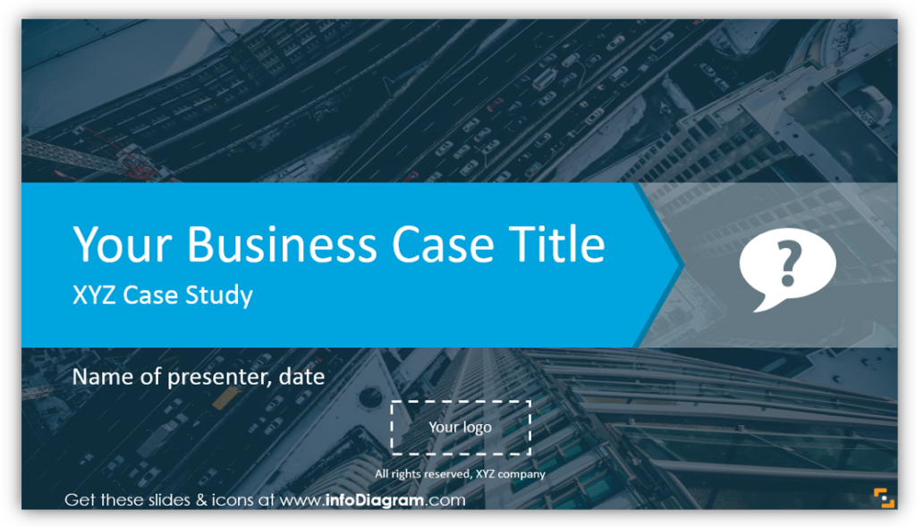 business case title ppt slide