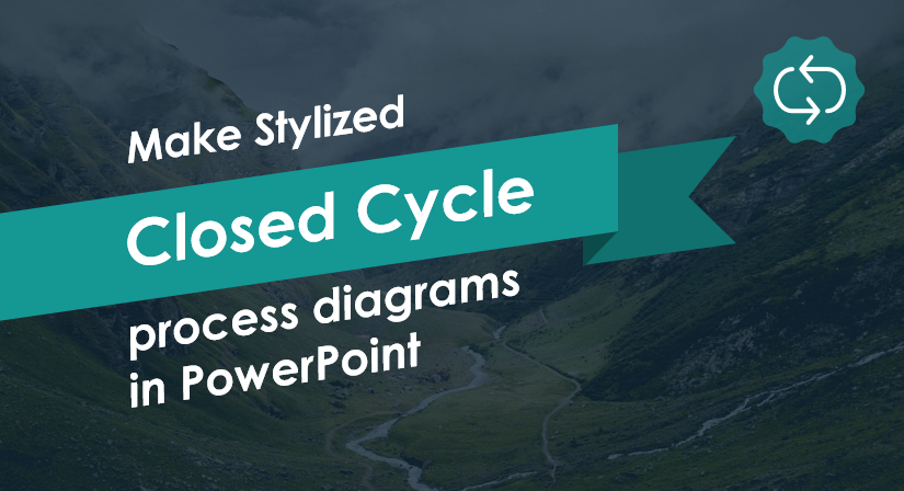 Make Stylized Closed Cycle Process Diagrams in PowerPoint
