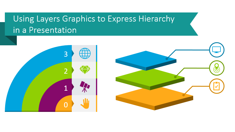 layers graphics tiers powerpoint