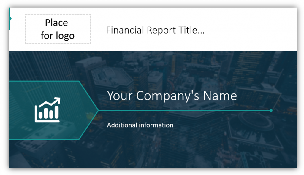 stock report financial report title ppt slide