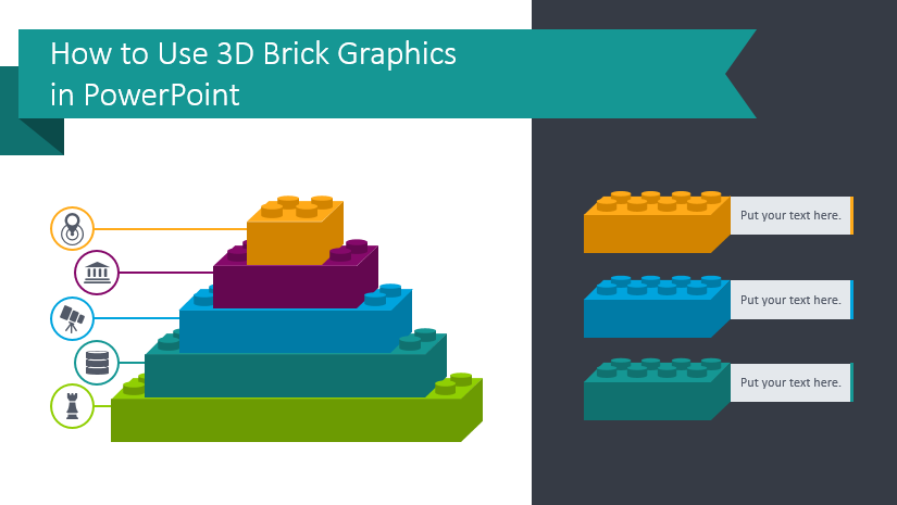How to Use 3D Brick Graphics in PowerPoint