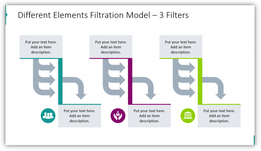 Different Elements Filtration Model – 3 Filters