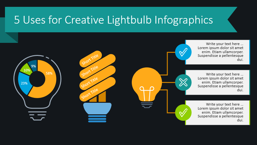 5 Uses for Creative Light Bulb Graphics