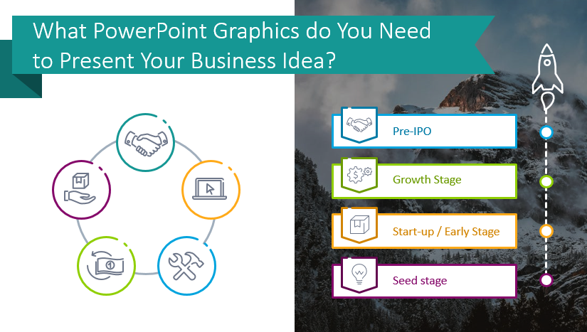 PowerPoint Graphics You Need to Present Your Business Idea and Pitch Deck