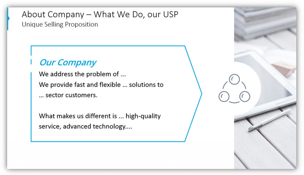 About Company – What We Do, our USP