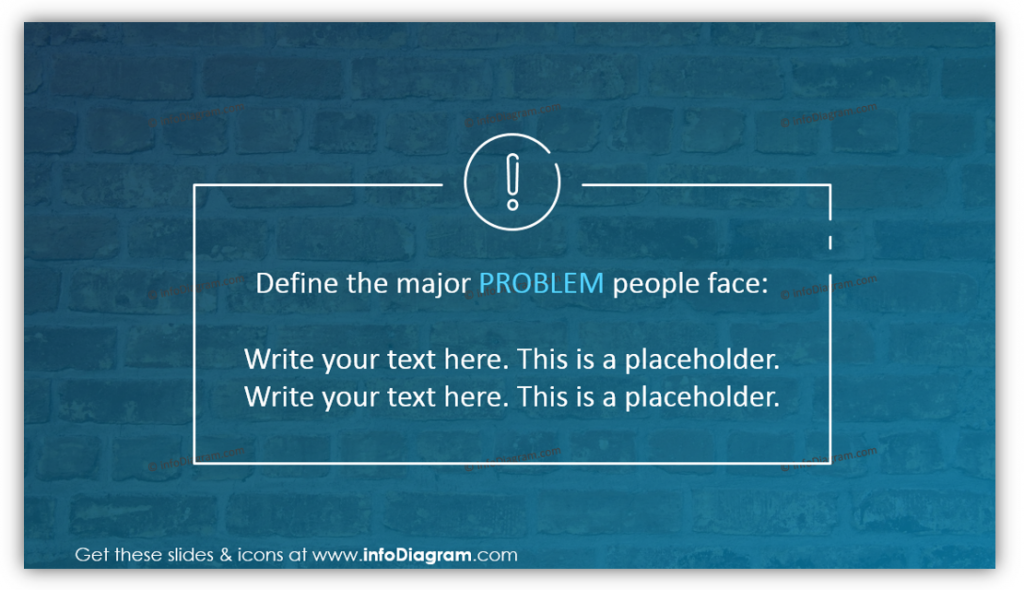 Challenge and Problems, we solve – declaration template