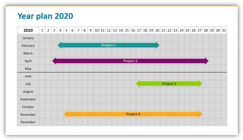 yealy plan calendar