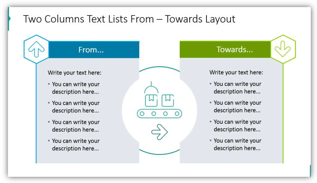 Two Columns Text Lists From – Towards Layout