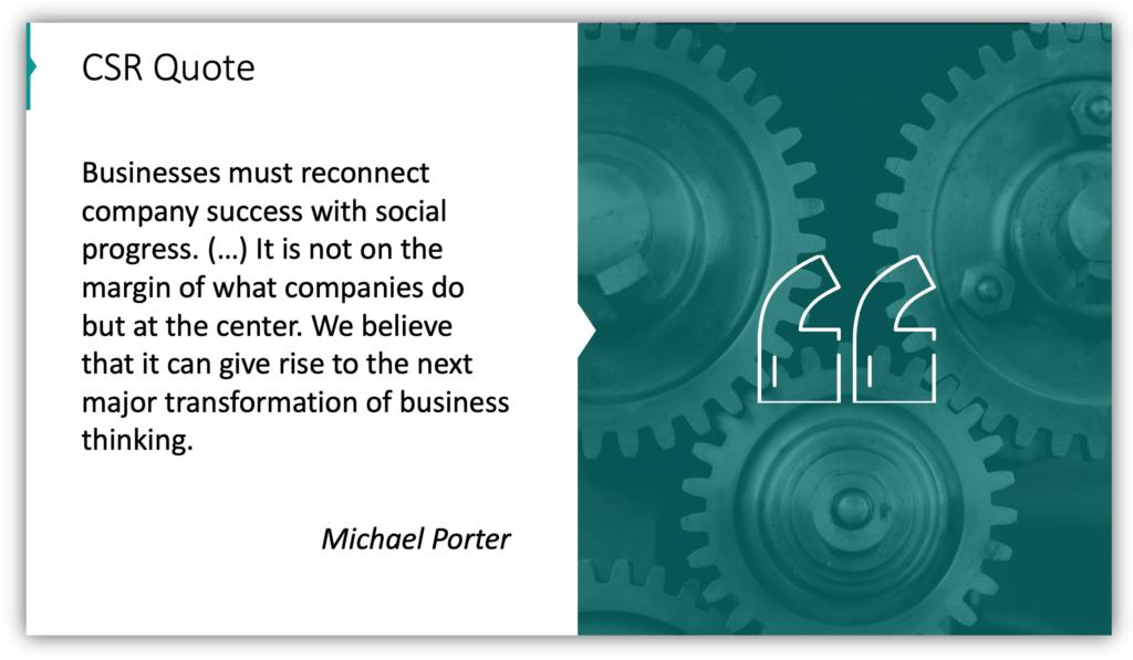 CSR Quote