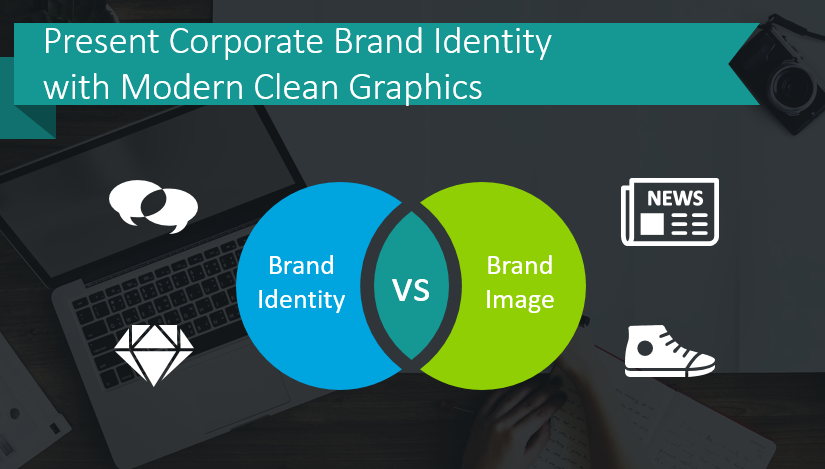 Present Corporate Brand Identity with Modern Clean Graphics