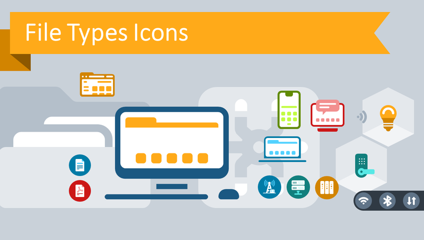 Use File Types Icons to Create IT Diagrams in PowerPoint