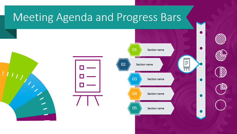 Have More Productive Meetings by Using Functional Agenda PowerPoint Slides