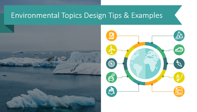 Earth Day support: Environmental Topics Design Tips & Examples