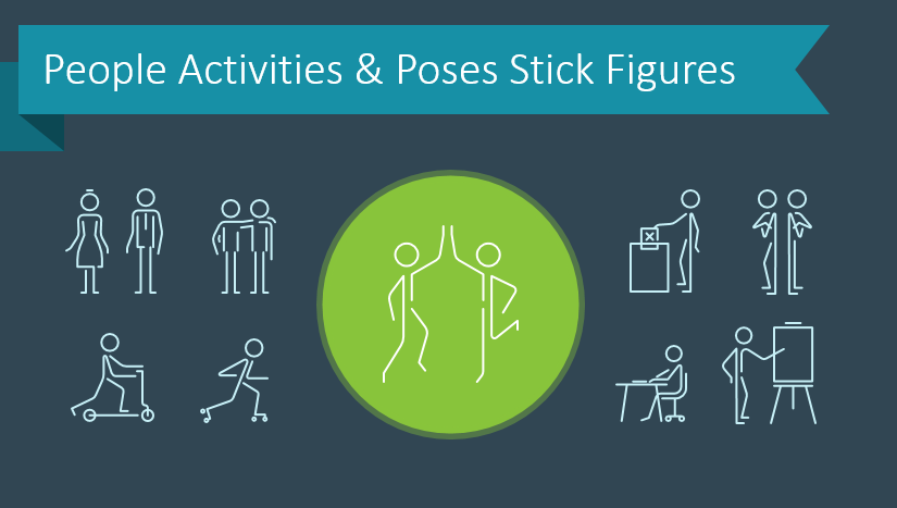 Add a Human Touch to Your Presentations With Stick Figure Graphics