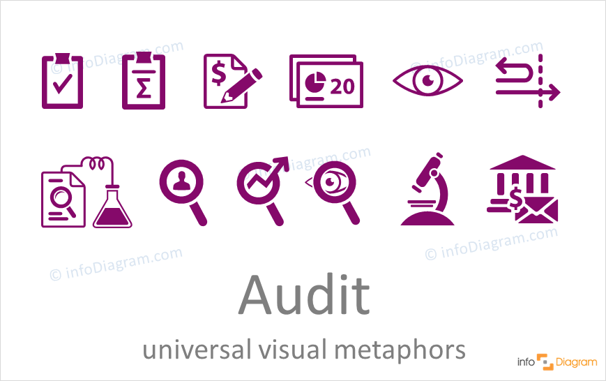 quality or financial audit ppt icons symbols ideas