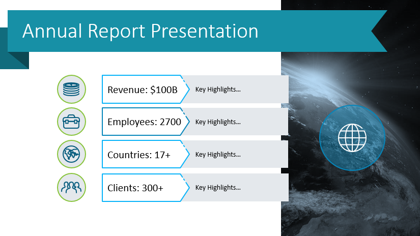 6 Examples of Presenting Business Highlights in Your Annual Report