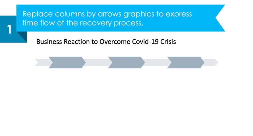 Guide on how to present recovery process after covid-19 crisis powerpoint guide step 1