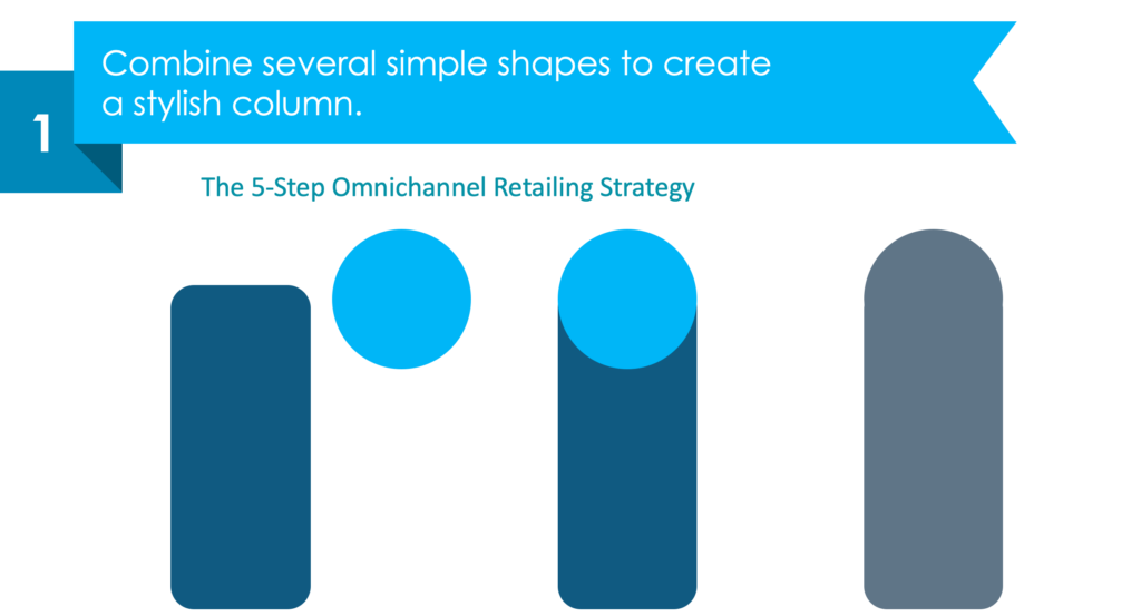 Guide on how to present omnichannel retailing strategy in powerpoint guide step 1