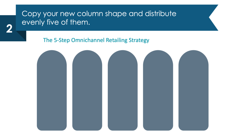 Guide on how to present omnichannel retailing strategy in powerpoint guide step 2