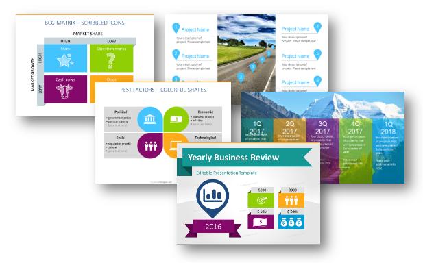 7 Visual Frameworks for Strategy Analysis Presentation