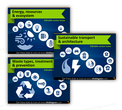 Ecology PowerPoint icons