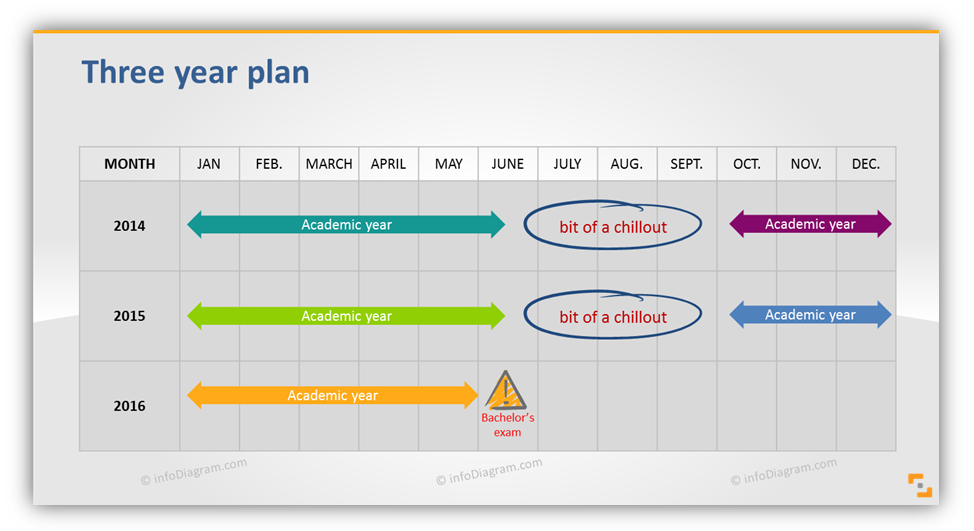 Planning Your Year with Slide Calendars Graphics
