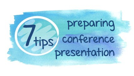 7 tips for stress free conference or seminar talk [checklist]