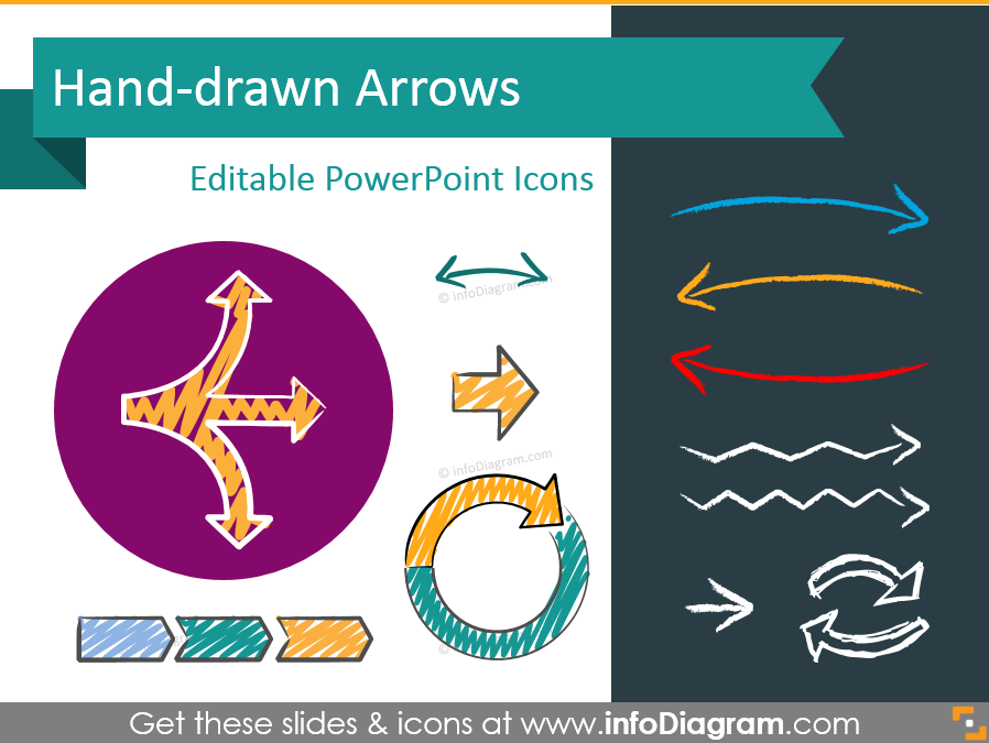 5 Creative Examples of Using Hand Drawn Arrows in Your Presentation